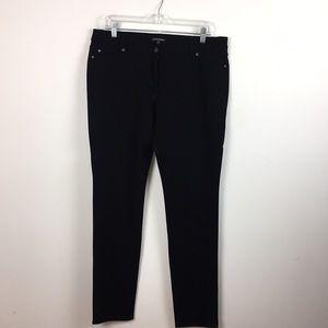 Eileen Fisher Black Ponte Pants